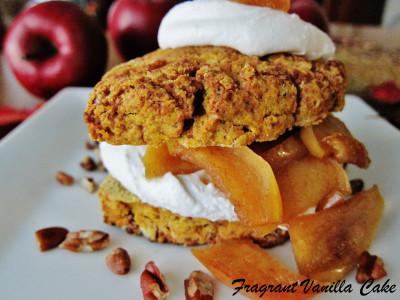Vegan Pumpkin Apple Shortcakes 4