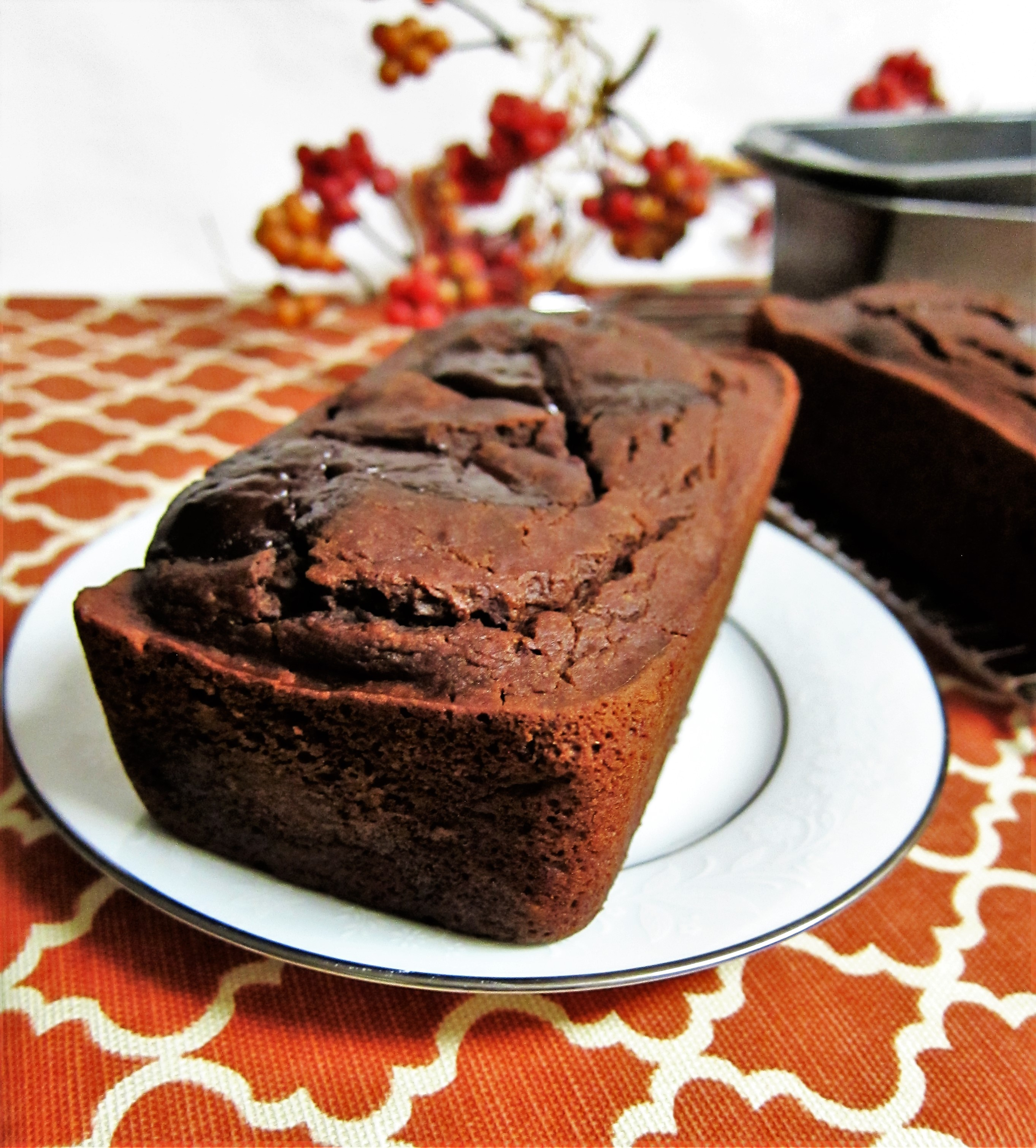 Vegan Mocha Pumpkin Bread
