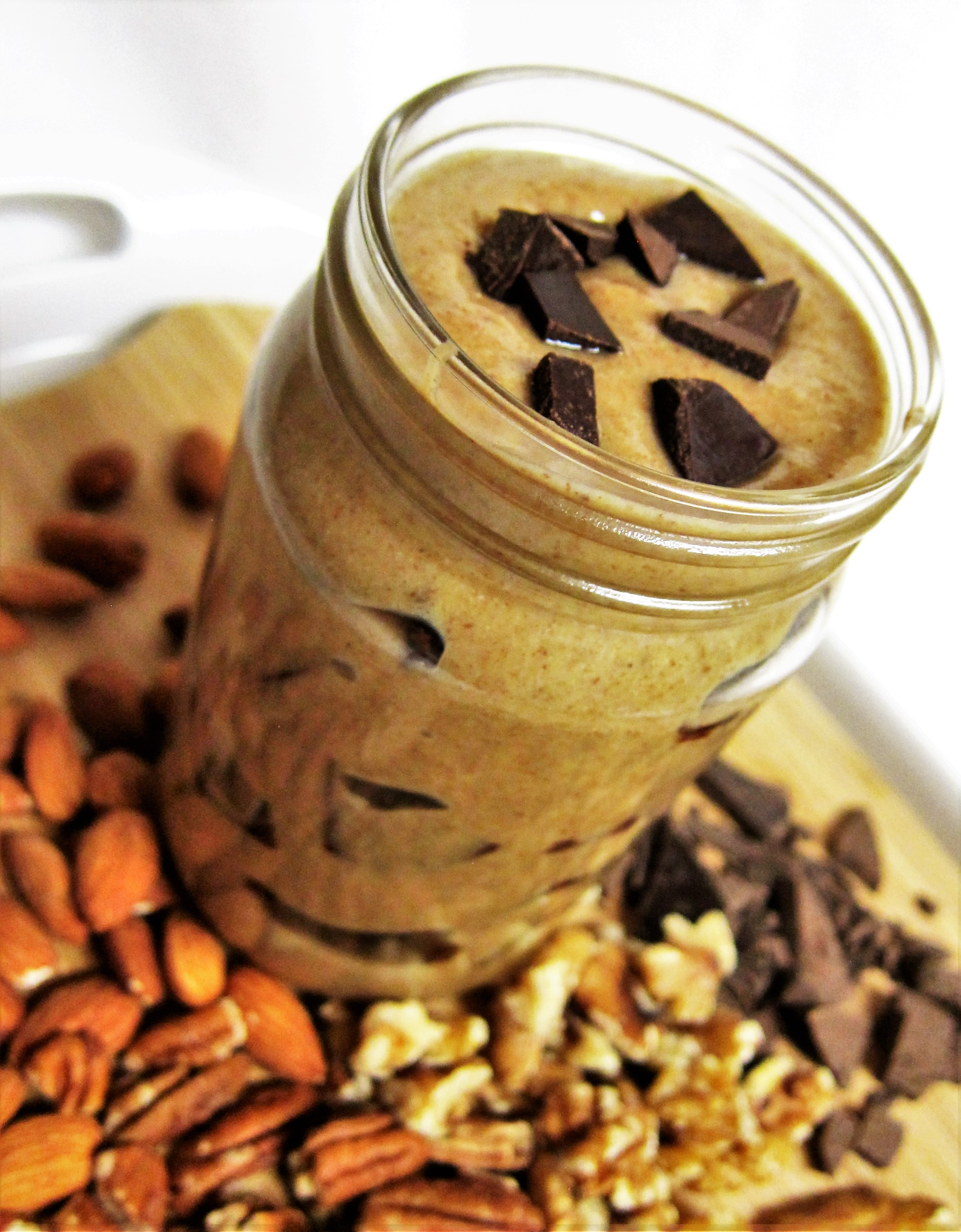 Raw Chocolate Chunk Cookie Dough Nut Butter