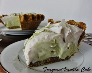 Matcha Coconut Cream Pie 3