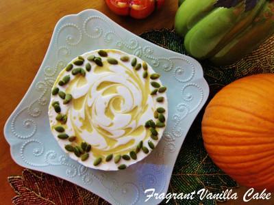 Raw Pumpkin Spice White Chocolate Cheesecake 1