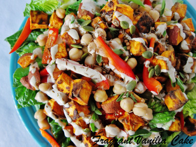 Yam and Chickpea Salad 3