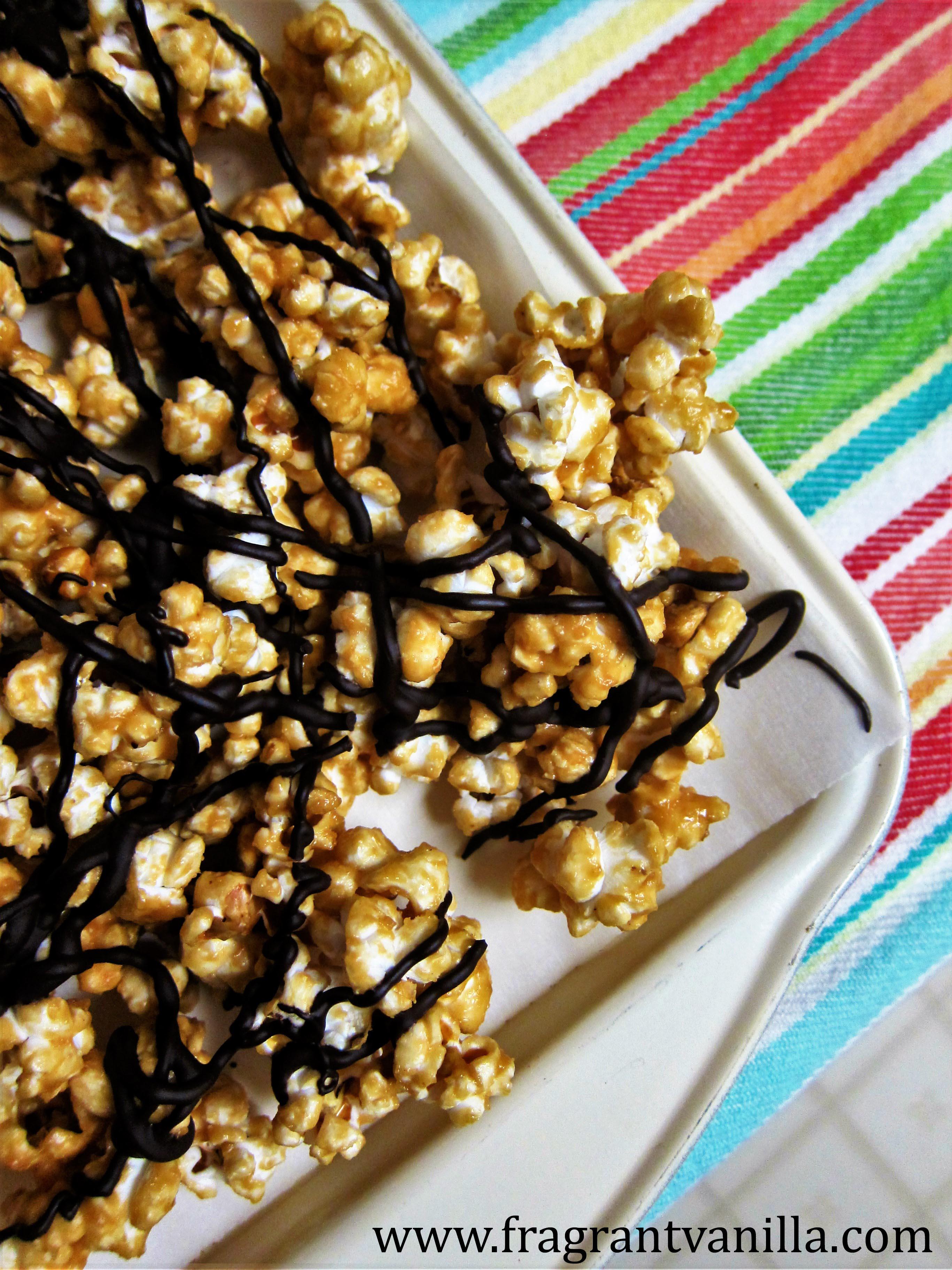 PB & Chocolate Dessert Popcorn