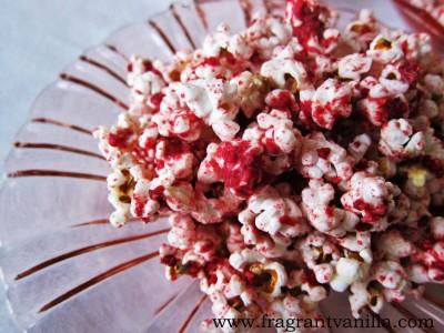 White Choc Raspberry Popcorn 2