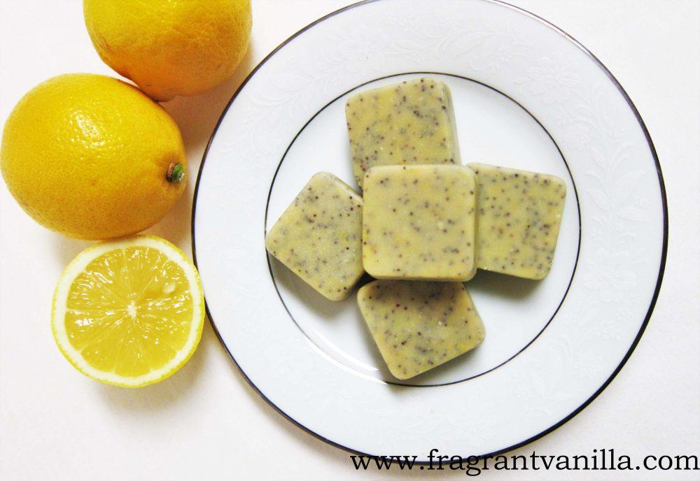 Raw Lemon Poppy Seed White Chocolates