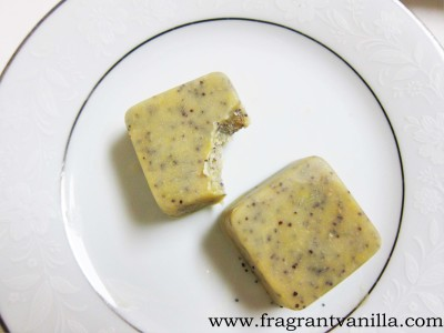 White Chocolate Lemon Poppyseed