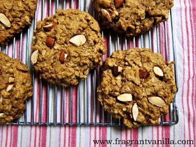 Almond Oatmeal Cookies 3