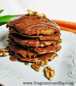 Carrot Cake Pancakes 4