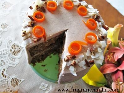 Festive Carrot Cake 1