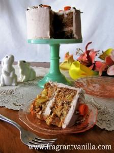 Festive Carrot Cake 3