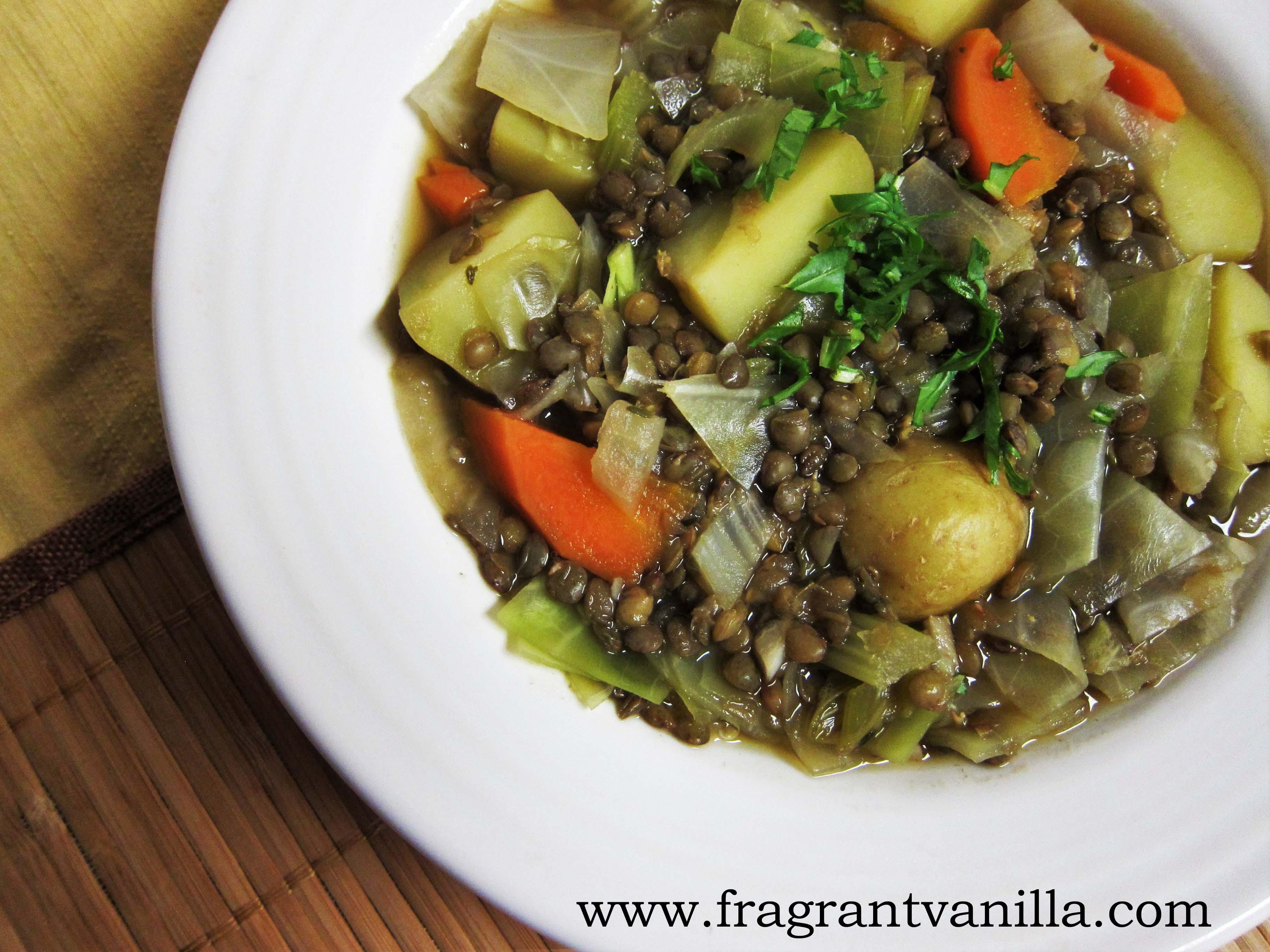 Irish Lentil Stew