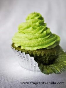 Lucky Green Cupcakes 1