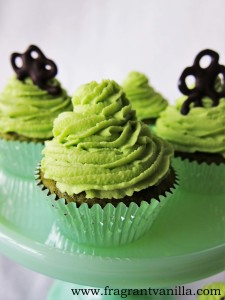 Lucky Green Cupcakes 3