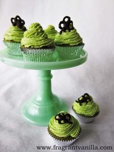 Lucky Green Cupcakes 4