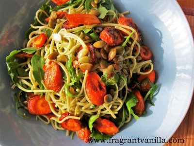 Spring Roasted Carrot Pasta 1