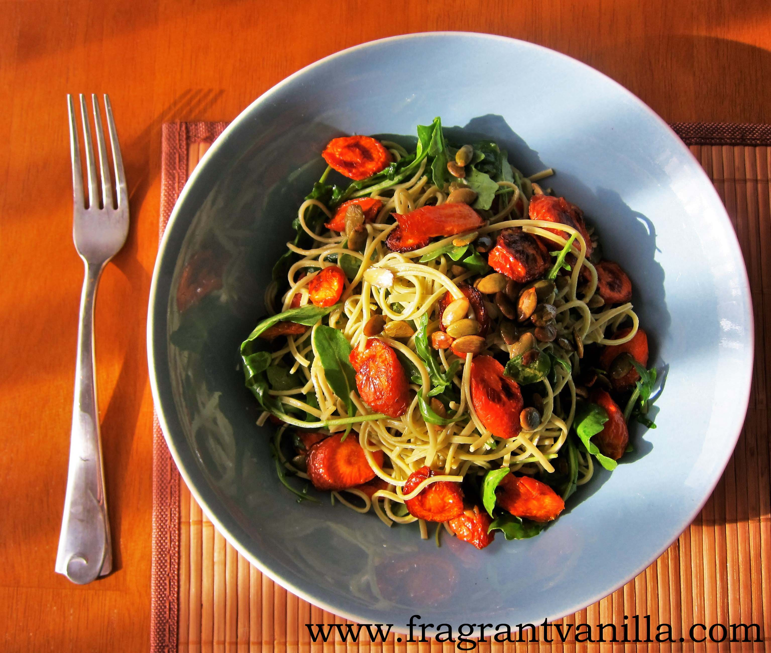 Spring Roasted Carrot Pasta