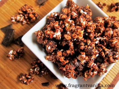 Dark Chocolate Sea Salt Popcorn 2