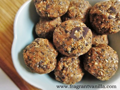 Oatmeal Cookie Energy Bites 1