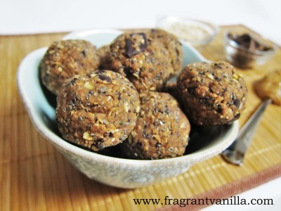 Oatmeal Cookie Energy Bites 3
