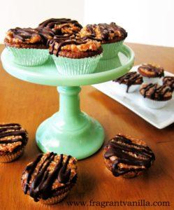 Samoa Cupcakes 4