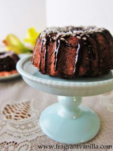 Almond Joy Bundt 1