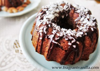 Almond Joy Bundt