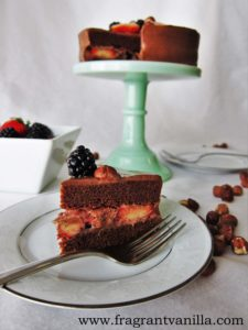 Chocolate Hazelnut Cake 1