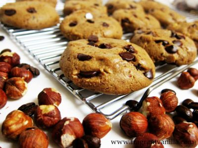 Hazelnut Coffee Chocolate Chip Cookies 2