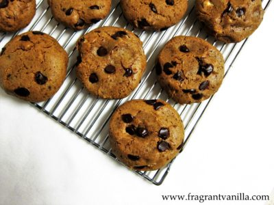 Hazelnut Coffee Chocolate Chip Cookies 4