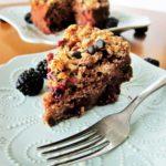 vegan blackberry chocolate chip coffeecake 3