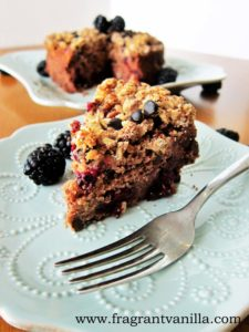 vegan blackberry chocolate chip coffeecake 3