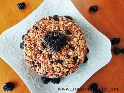 vegan blackberry chocolate chip coffeecake 5