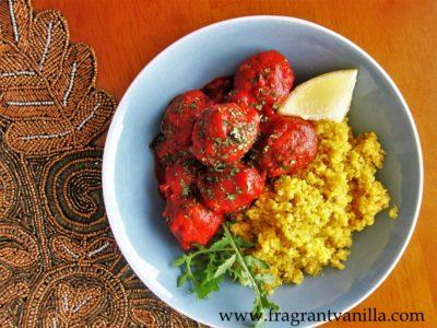 vegan moroccan meatballs 3