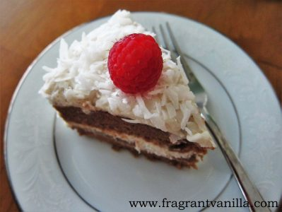 Coconut Caramel Cake 2