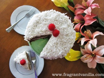 Coconut Caramel Cake 3