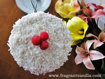 Coconut Caramel Cake 5