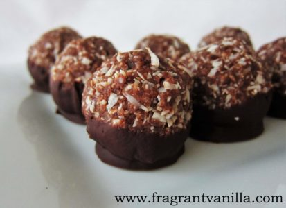German Chocolate Macaroons 2