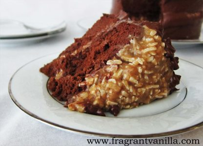 German Chocolate Potato Cake 1