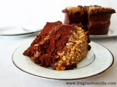 German Chocolate Potato Cake 2