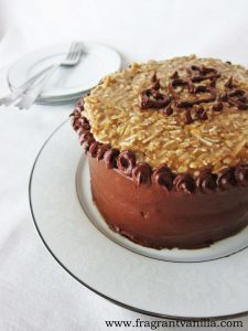 German Chocolate Potato Cake 5