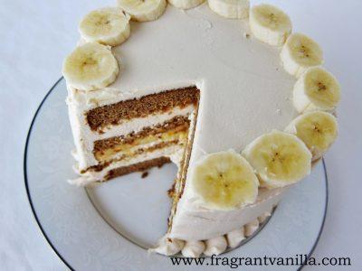 PB Banana Cake