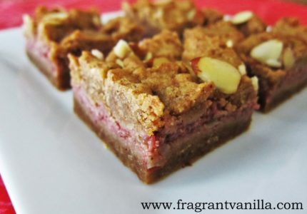Vegan Almond Butter and Strawberry Rhubarb Jelly Bars ...