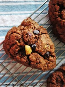 Vegan Chocolate Hazelnut Scones 3