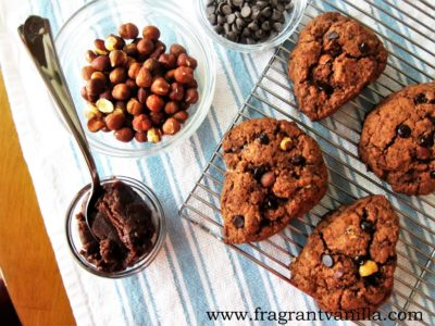 Vegan Chocolate Hazelnut Scones 4
