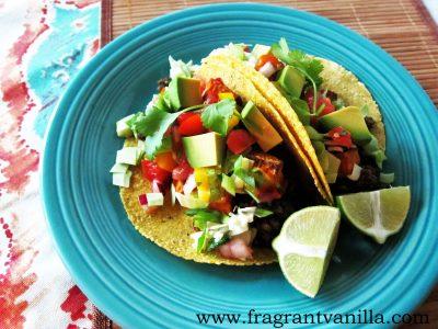 Lentil Yam and Mushroom Tacos 1
