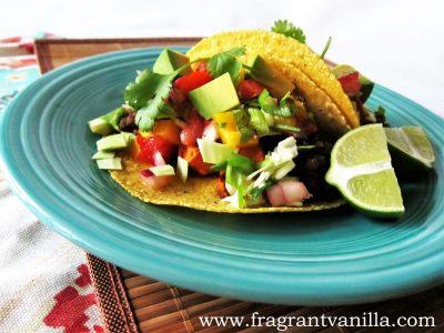Lentil Yam and Mushroom Tacos 2