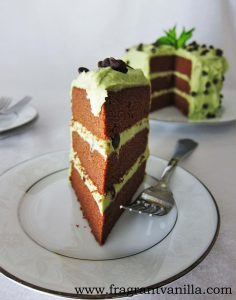 Mint Chip Cake 1