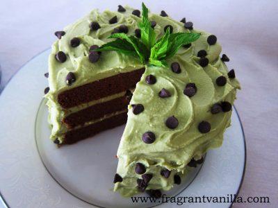 Mint Chip Cake 2