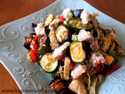 Summer Roasted Vegetable Pasta 2