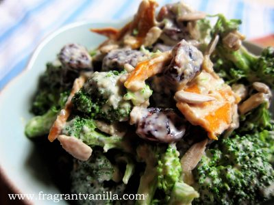 Tahini Broccoli Salad 1